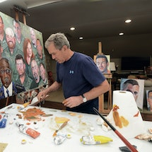 See President Bush's Portraits of Courage Appearances