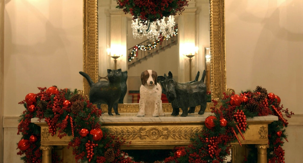 Christmas Decoration 2014 all creatures great and small: christmas at the white house 2002