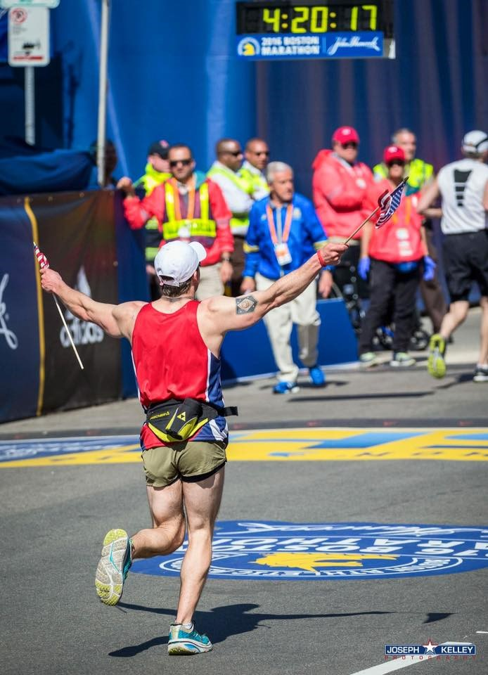 A Vet's Marathon Run Leads to Unexpected Healing
