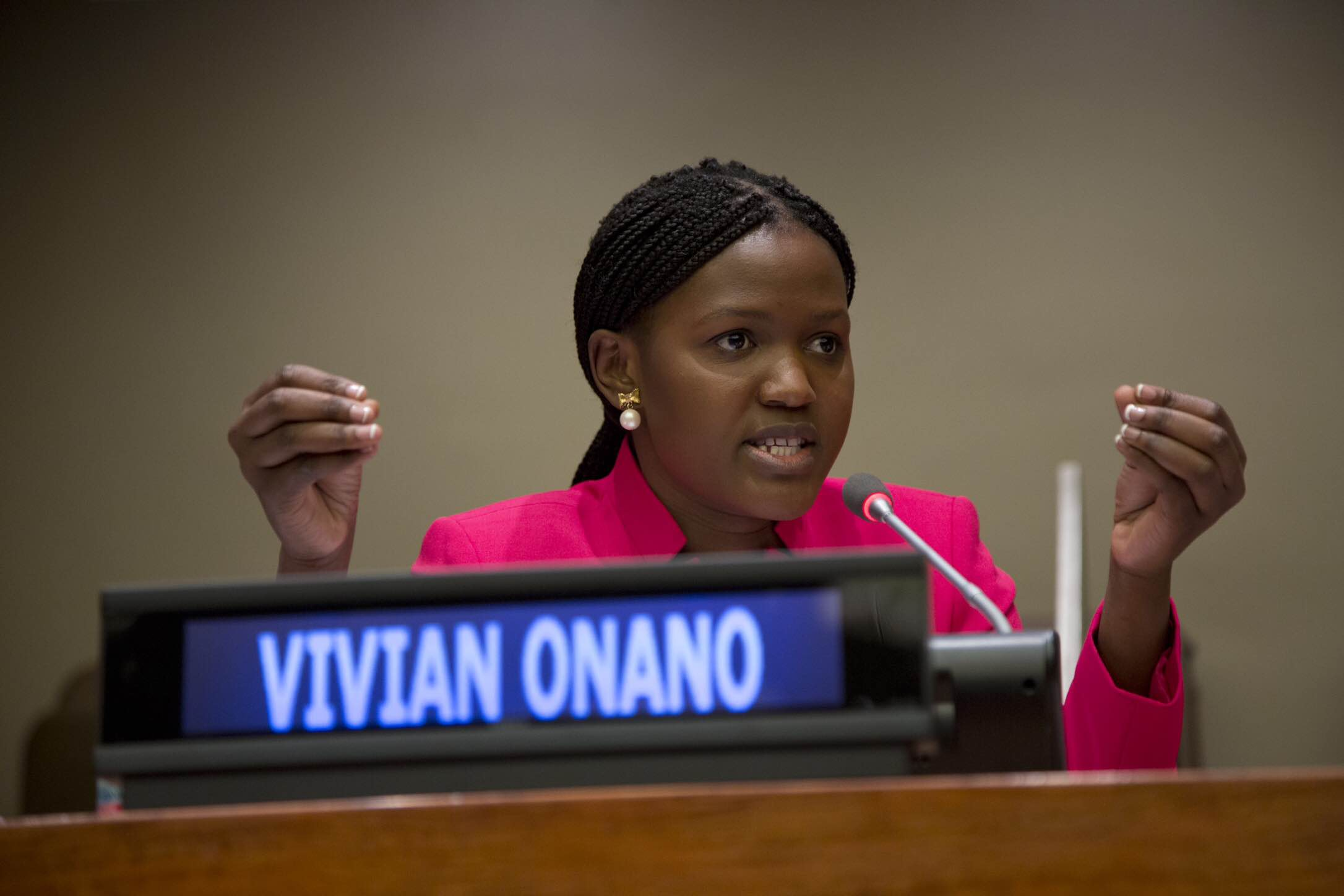 Voices of Hope: A Conversation with Youth Activist Vivian Onano