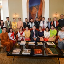 Reason for Excitement: Bush Institute Welcomes New Liberty and Leadership Forum Class
