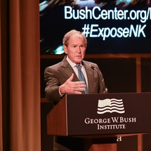 Remarks by President and Mrs. George W. Bush at