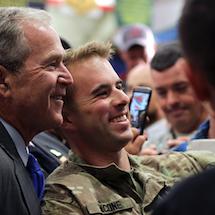 Honoring America's Veterans with President George W. Bush