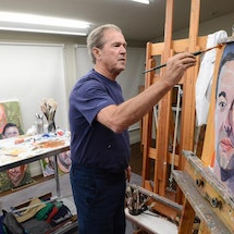 Upcoming: President Bush interviews on <em>Portraits of Courage</em>