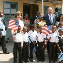 Follow President and Mrs. Bush's Visit to Namibia and Botswana