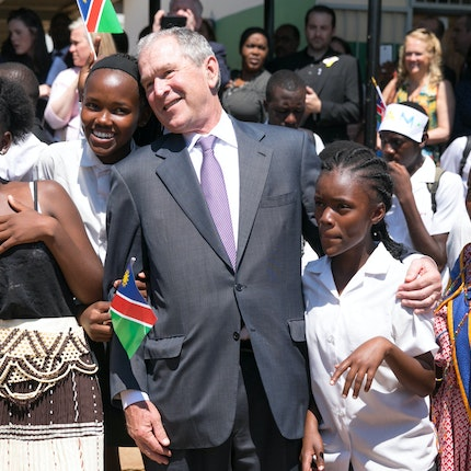 President and Mrs. Bush's Visit to Namibia and Botswana in Photos