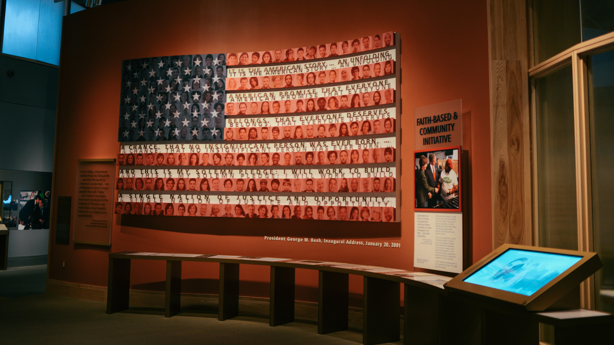 What Freedom Means around the Bush Center