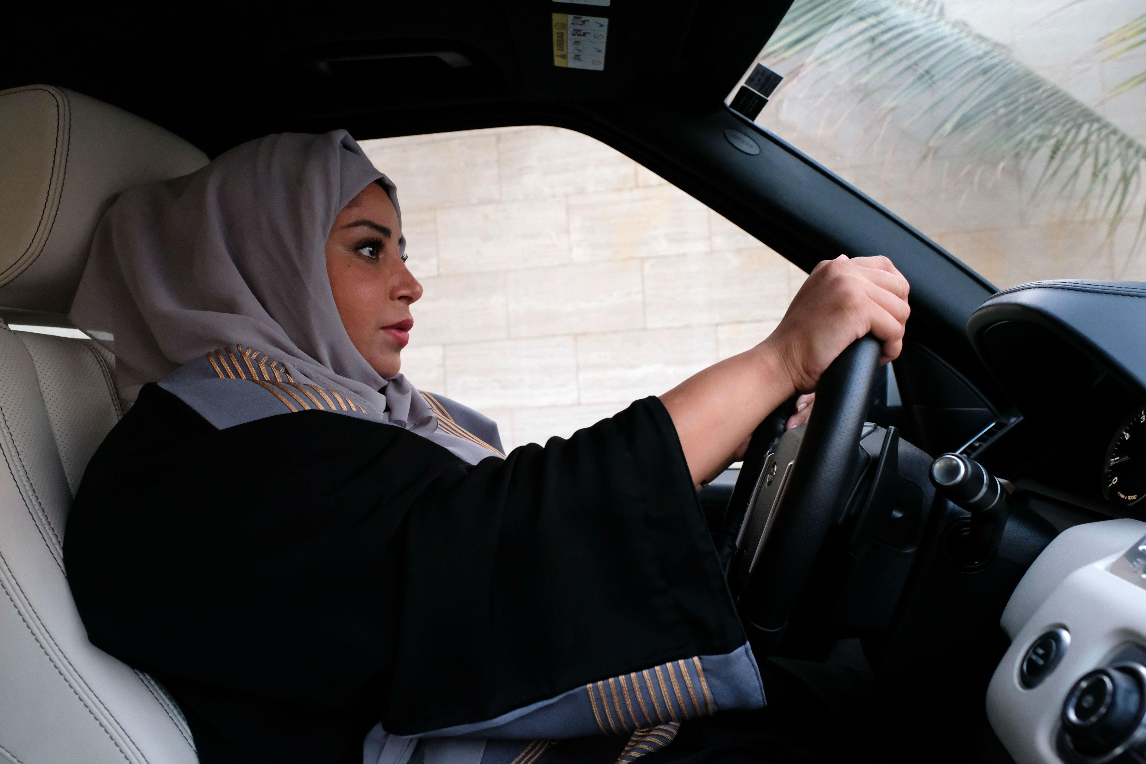 Saudi Arabian Women Celebrate Milestone Victory