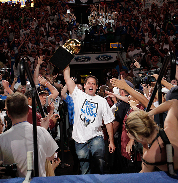 As owner, Mark Cuban embraced change after the Dallas Mavericks lost in the NBA Finals in 2006 to the Miami Heat. The revamped roster and coaching staff brought the city of Dallas an NBA championship in 2011.