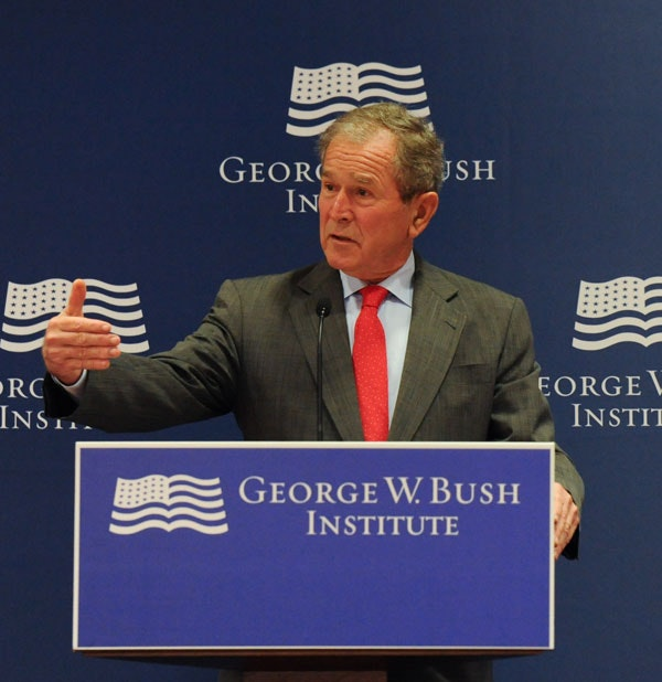 VIDEO: President Bush discusses North America at the launch of the Bush Institute's North American Competitiveness Scorecard.