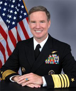 Admiral Patrick Walsh