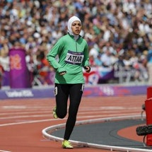 An Olympic Moment for Middle Eastern Women