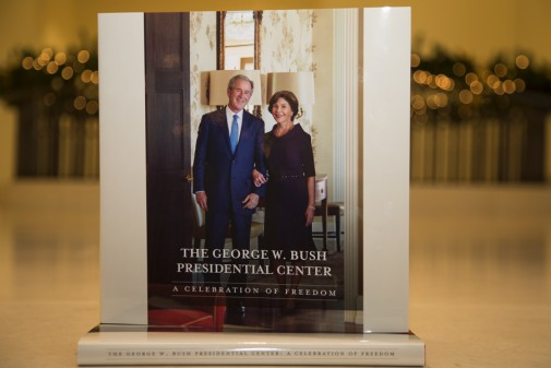 On This Year's Christmas List – Bush Center Commemorative Coffee Table Book
