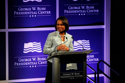 What Freedom Means to Condoleezza Rice