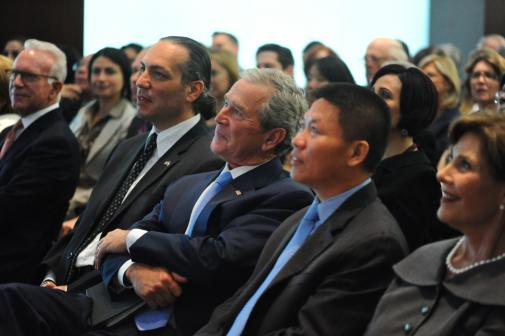 Remarks by President Bush: The Arab Spring and American Ideals