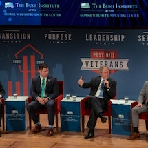 The Year in Review for the Bush Institute's Military Service Initiative