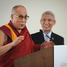 The Dalai Lama's Realistic Message
