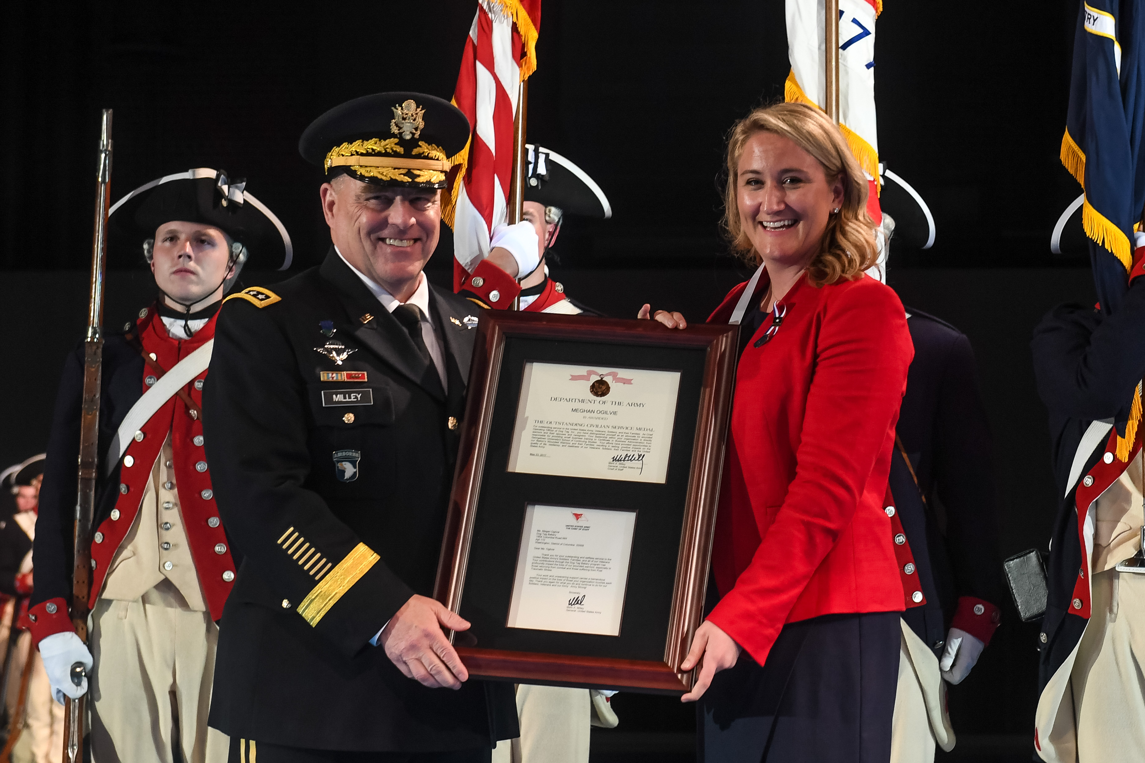 Q&A with Presidential Leadership Scholar Meghan Ogilvie, Recipient of the Outstanding Service Award from the U.S. Army