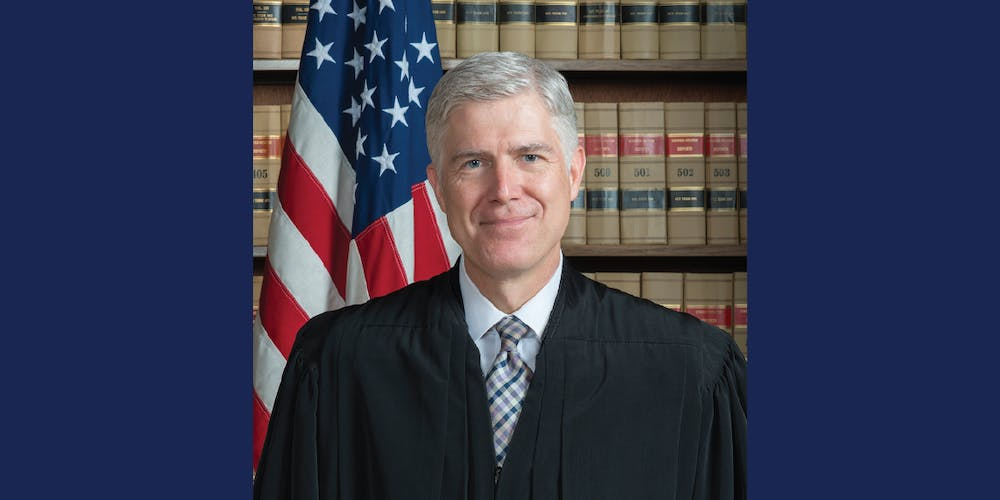 A Conversation with Supreme Court Justice Neil Gorsuch