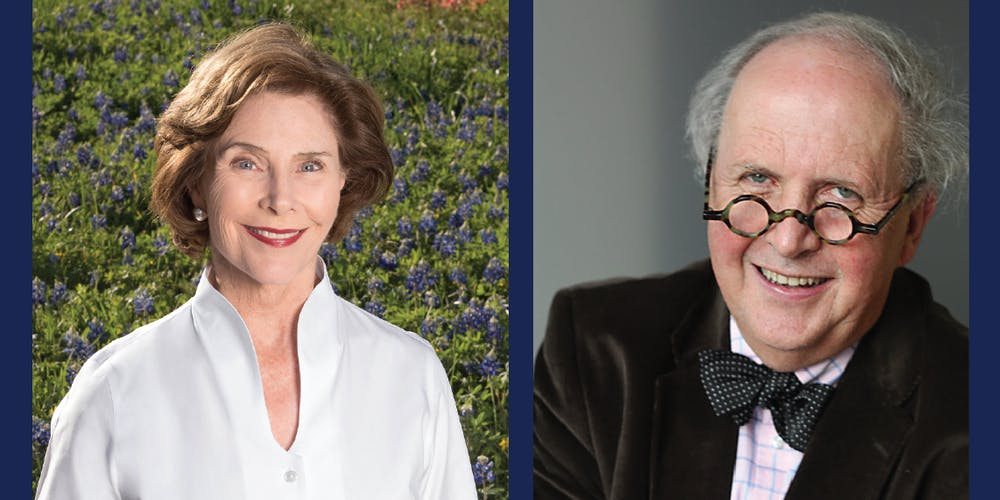 Laura Bush Book Club with Alexander McCall Smith