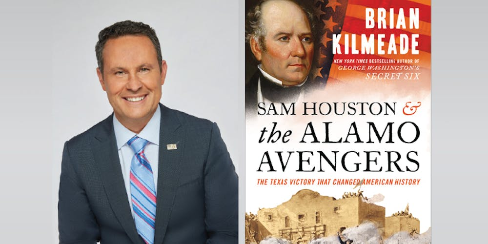 Sam Houston and the Alamo Avengers: A Conversation with Brian Kilmeade