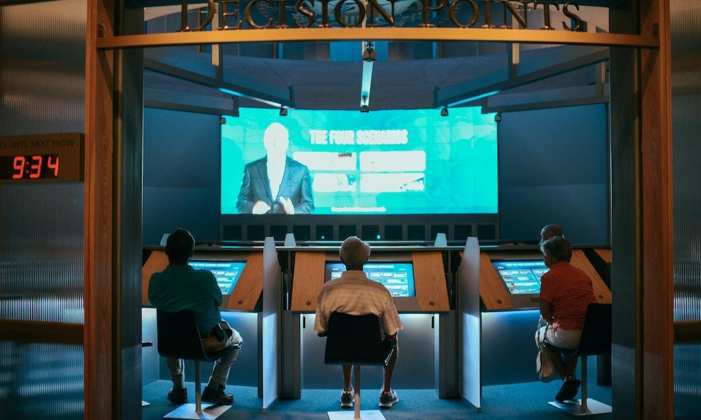 Permanent Exhibit Critical Decisions Bush Center