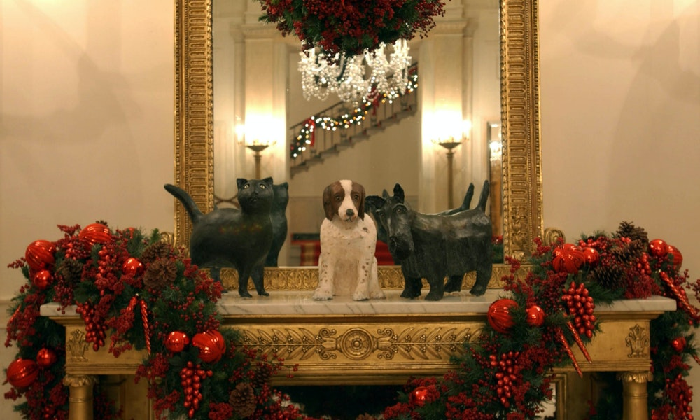 Whitehouse Christmas.All Creatures Great And Small Christmas At The White House