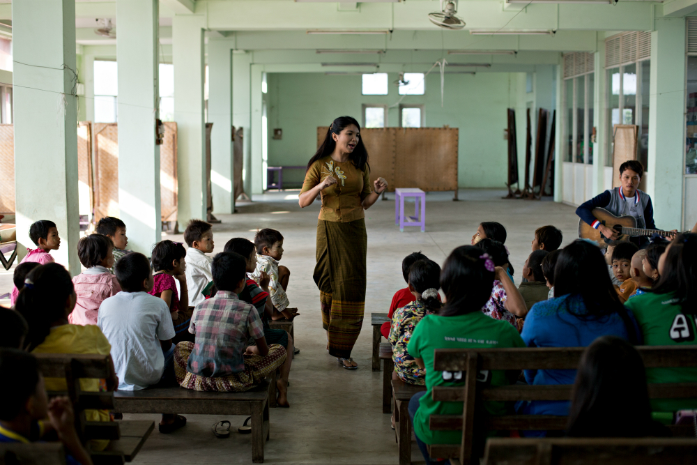 Q&A with Htet Htet Oo, One of Burma's Rising Young Leaders