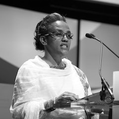 Her Excellency Mrs. Roman Tesfaye