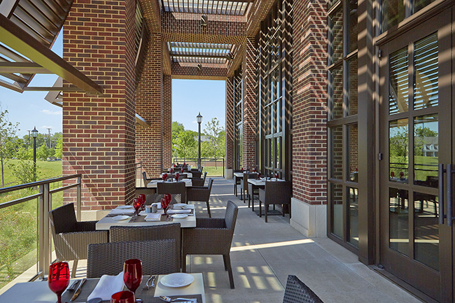Dining at the Bush Center: Cafe 43 and the Courtyard Cafe