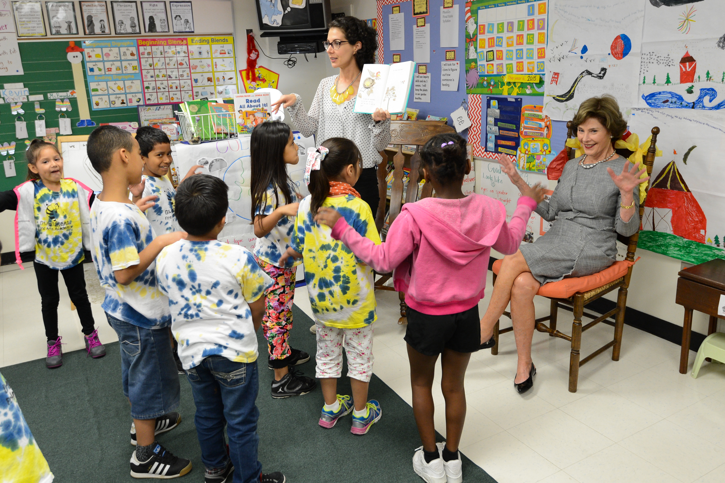 Laura Bush Foundation School Library Grants Open:  Tell Us How You Enhance #Literacy Skills
