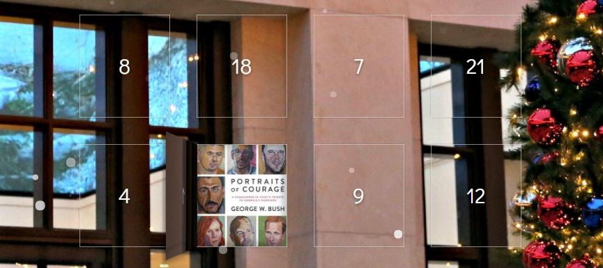 The 2017 Bush Center Holiday Interactive Calendar