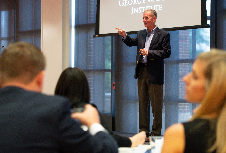 Two-Minute Take: General McChrystal on Veteran Leadership