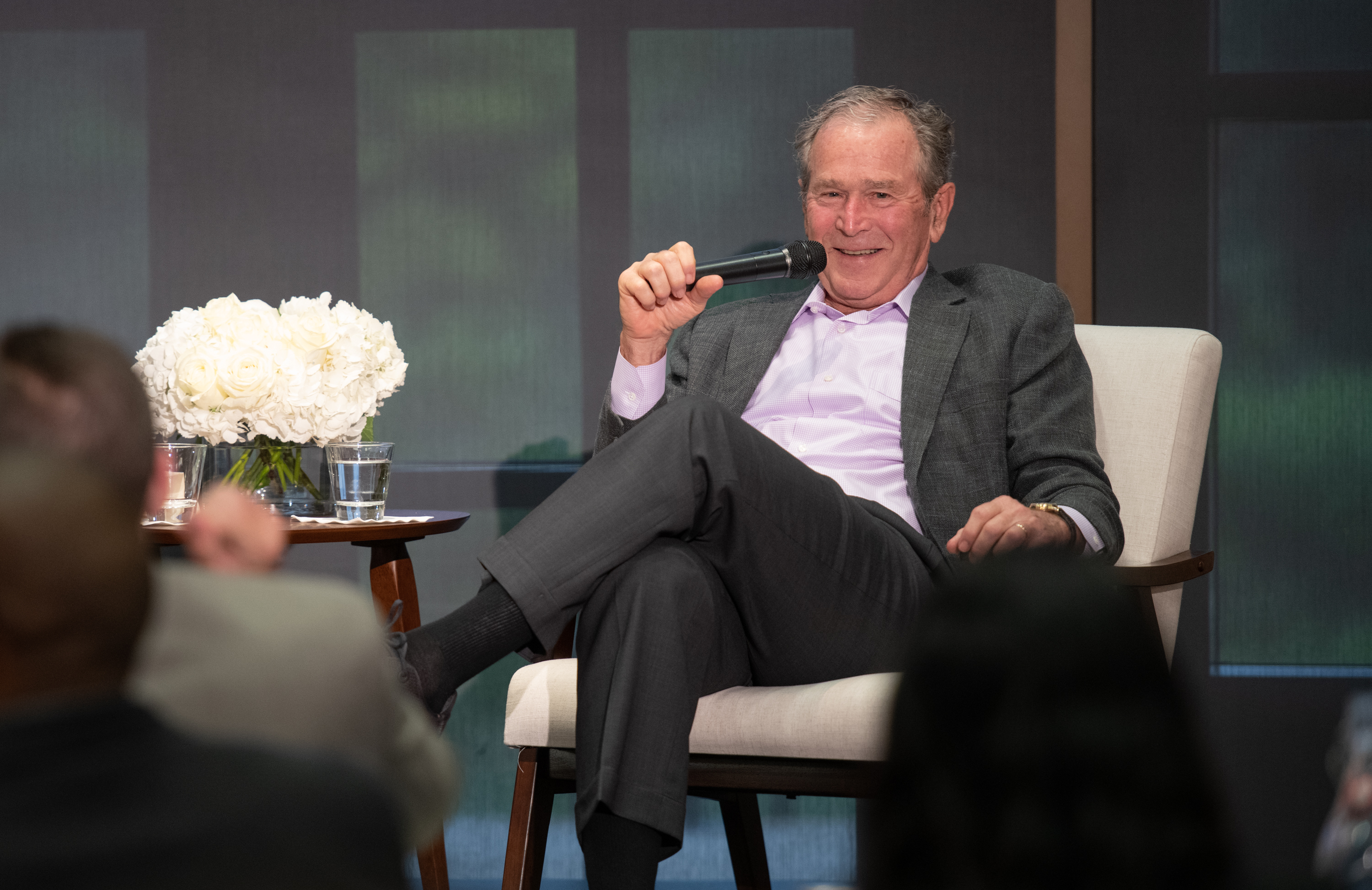 Leaders Know Where They Want to Go: A Conversation with President George W. Bush