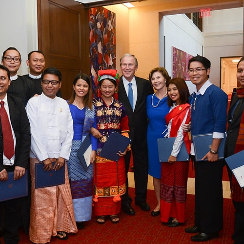 Bush Institute Leaders Are Contributing to Burma's Democratic Transition