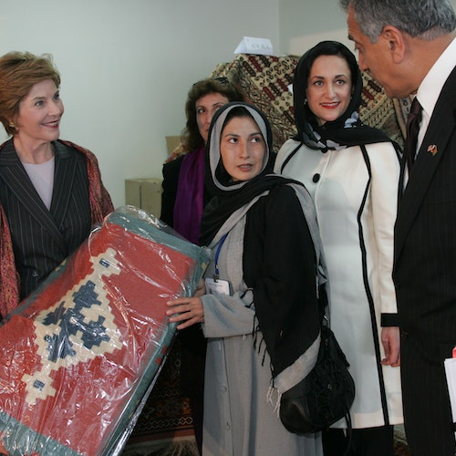Mrs. Laura Bush: 'Free people around the world must stand with Afghan women'