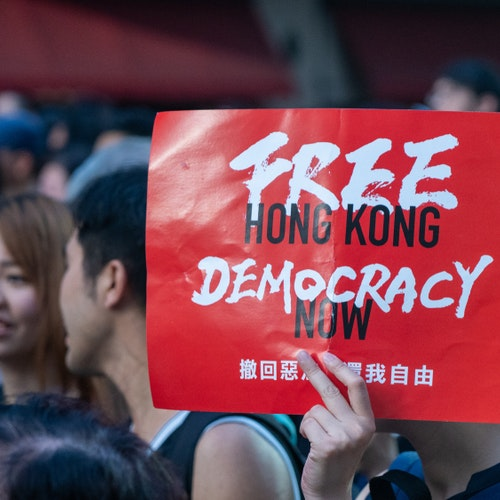 Using Technologies to Stand for Freedom in Hong Kong