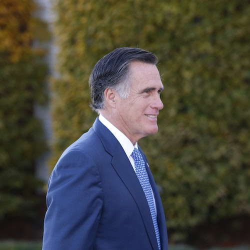 Democracy Talks: Senator Mitt Romney