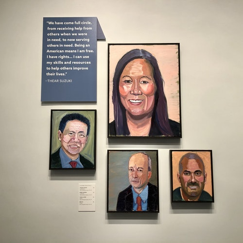 Presidential Leadership Scholars Featured in Out of Many, One: Portraits of America's Immigrants