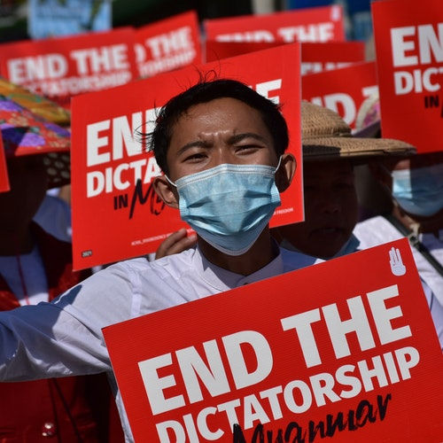 Burma's Military has Stopped the March Toward Freedom.  What Will We Do?