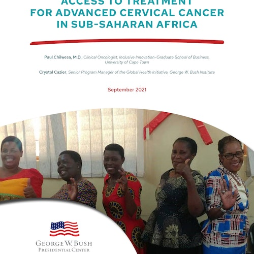 Strategies for Accelerating Access to Treatment for Advanced Cervical Cancer in Sub-Saharan Africa