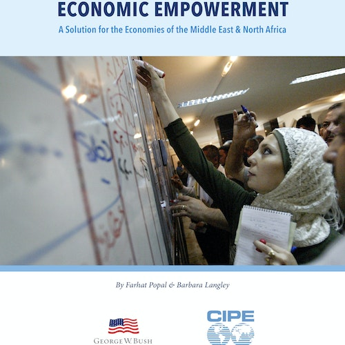 Women's Leadership and Economic Empowerment: A Solution for the Economies of the Middle East and North Africa