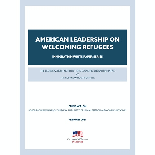 American Leadership on Welcoming Refugees
