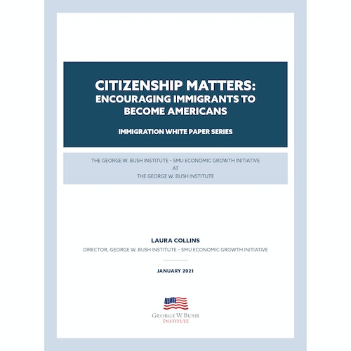 Citizenship Matters: Encouraging Immigrants to Become Americans