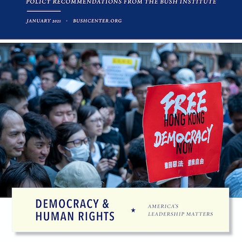 Democracy and Human Rights: America's Leadership Matters