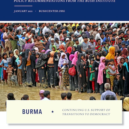 Burma: Continuing U.S. Support of Transitions to Democracy