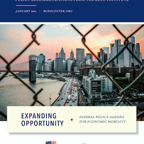 Expanding Opportunity: Federal Policy Agenda for Economic Mobility