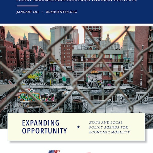 Expanding Opportunity: State and Local Policy Agenda for Economic Mobility