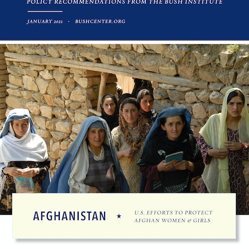 U.S. Efforts to Protect Afghan Women and Girls