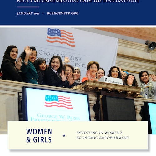 Women and Girls: Investing in Women's Economic Empowerment